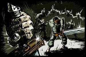 Spratt's Swordfight by Avery Easter